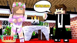 LITTLE KELLY GETS FIRED FROM LOVE ISLAND? | Minecraft Little Kelly