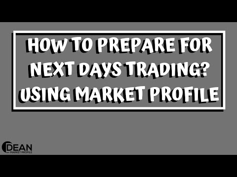 9 Steps To Prepare For Next Trading Day Using Market Profile Charts