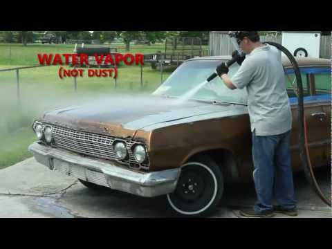 Dustless Blasting Strips A '63 Impala In Under 1 Hour!