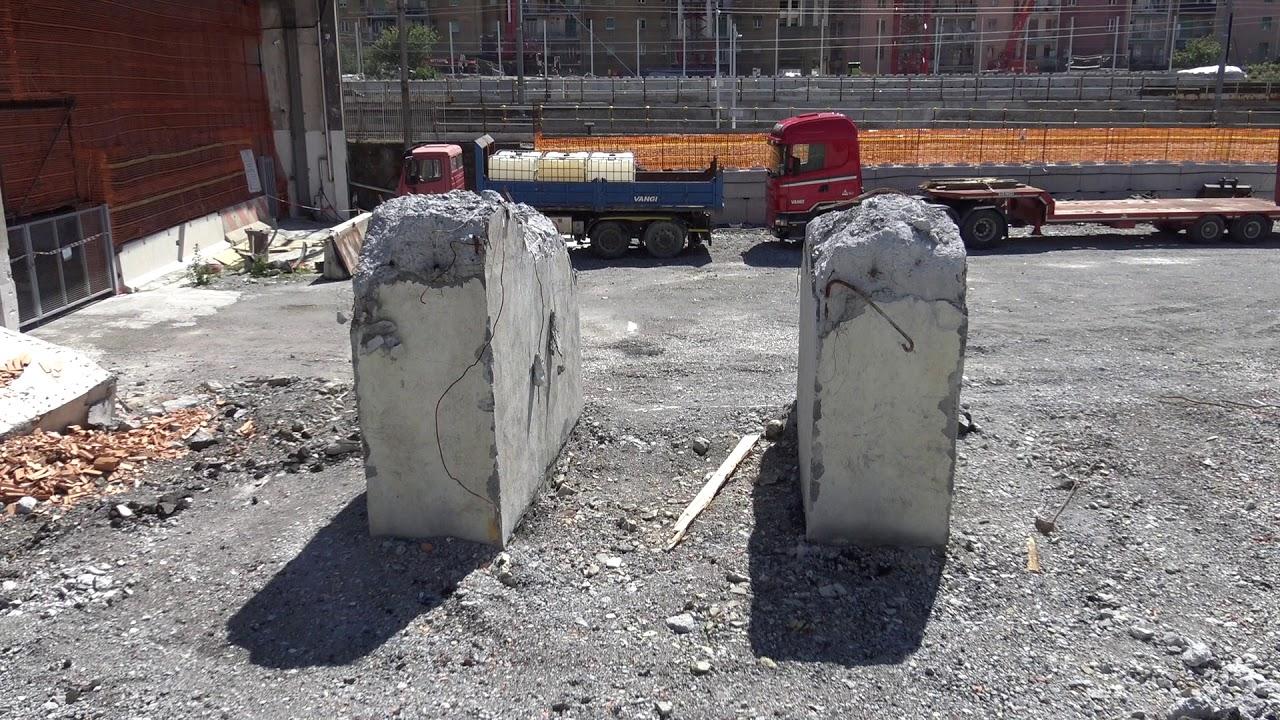 Genova nove mesi dopo il crollo del Ponte Morandi