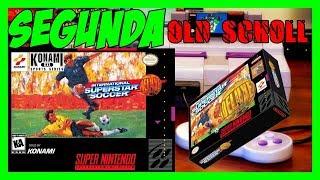 Segunda Old School International Super Star Soccer Deluxe para Super Nintendo!!!