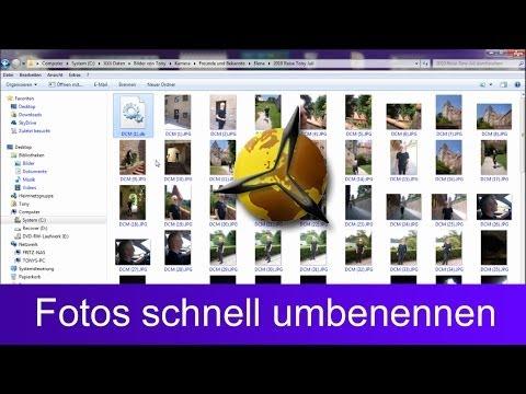 Windows: Dateien, Bilder & Fotos schnell umbenennen
