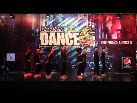 OFFICIAL: UBELT DANCE 6 TEAM SEMIS - FEU Institute of Technology, EXUDE