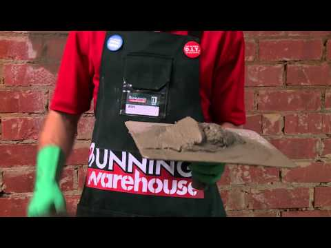 How To Hard Plaster A Brick Wall - DIY At Bunnings