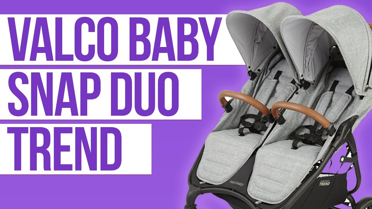 Twin Stroller In Dubai Valco Baby Snap Duo Trend 2018 Double Stroller Review