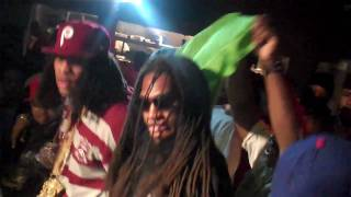 Waka Performs F The Club Up with Pastor Troy & Slim Dunkin @ Pearl in ATL 10 05 10