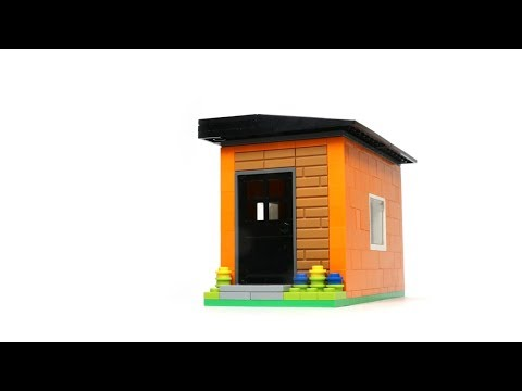 Is This the World's Tiniest LEGO House? A LEGO Building Challenge