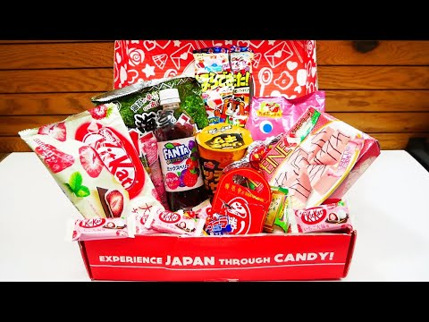 Japan Crate Unboxing February 2020!! New Japanese Snacks