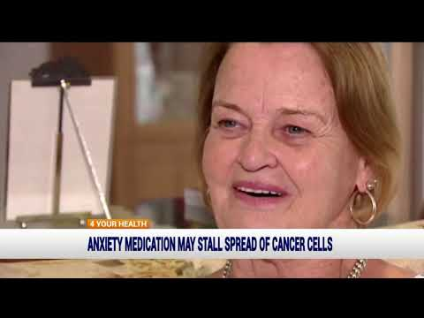 Anxiety medication may stall spread of cancer cells