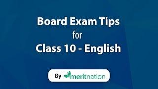 CBSE Class 10 : English Tips