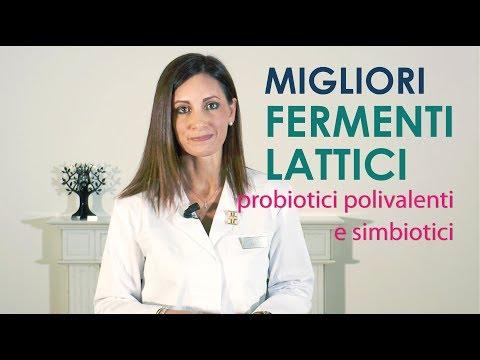 FERMENTI Lattici: Migliori Probiotici polivalenti e simbiotici.