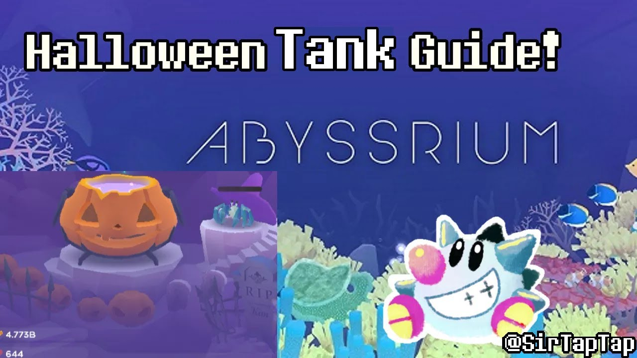 Abyssrium Halloween Event 2020 Kraken Tap Tap Fish AbyssRium Halloween Event Tank Guide – Sir TapTap