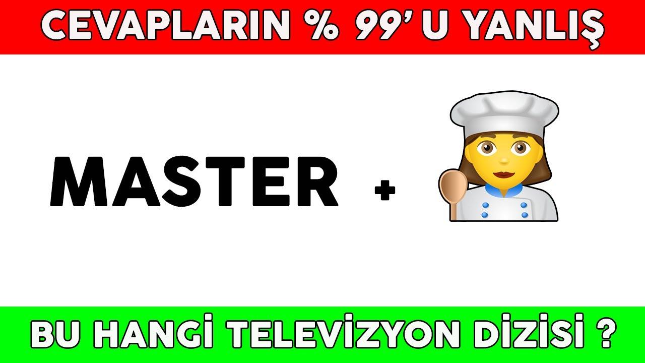 Emoji Bulmaca- Emojilerden Popüler Türk Dizilerini Tahmin Edebilir misin? -