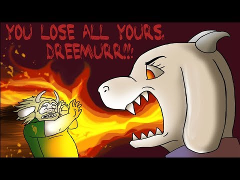 Thumbnail: Asgore's Dreams, Just Got Wiped Out! (Undertale Comic & Animation Dub Compilation)