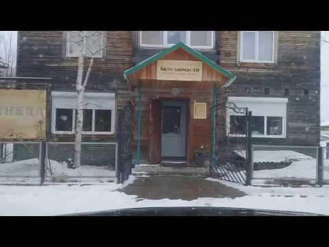 Улицы Красновишерска 21 апреля 2017 Опять началась Зима...