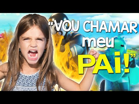FUI IRRITAR UMA FÃ DE K-POP E ELA CHAMOU O PAI - FORTNITE