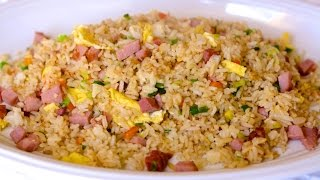 Kurobuta Ham and Eggs and Ham Fried Rice Recipes