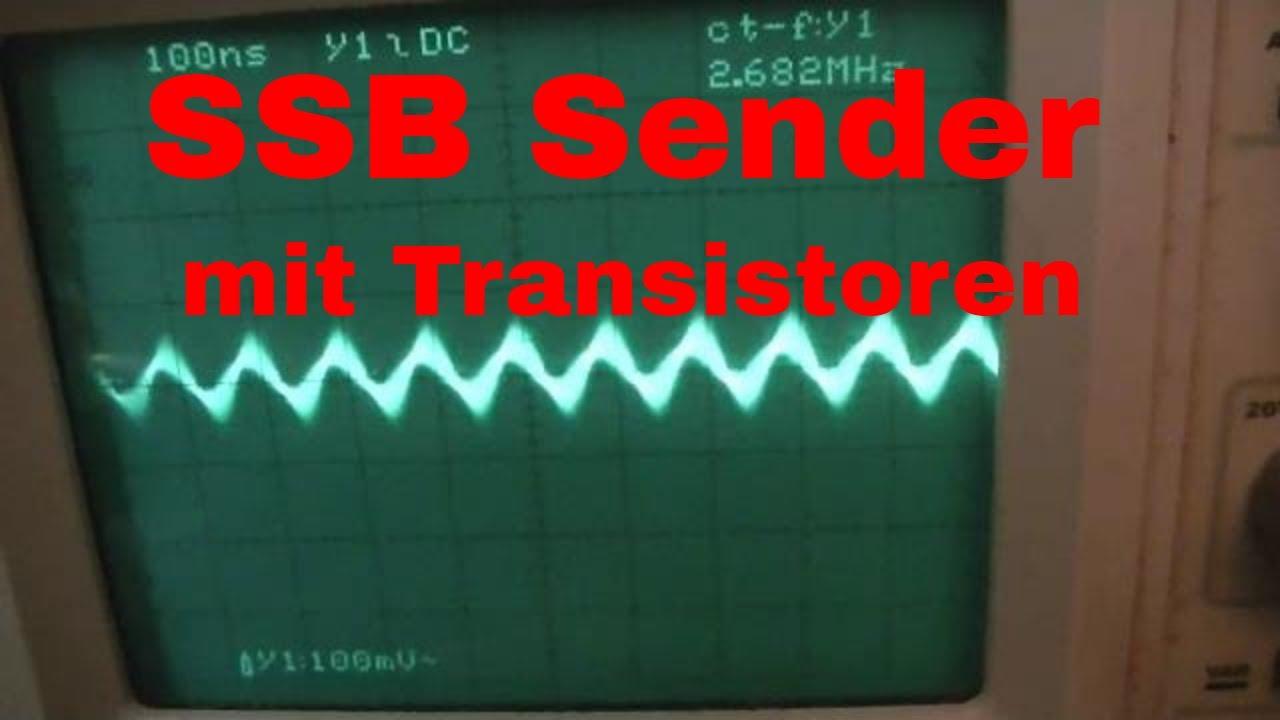 SSB Sender mit NE602 oder NE612 und die Chips mit Transistoren nachbauen -  eflose #937