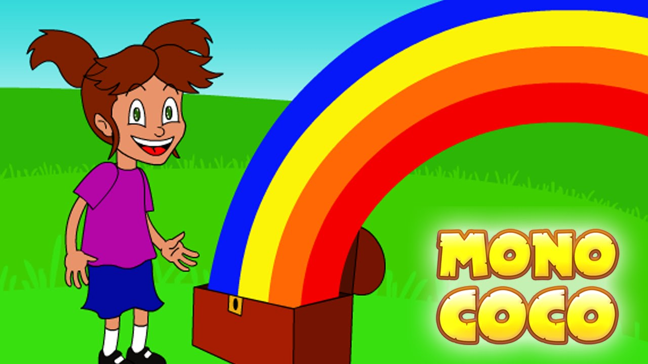 Arcoiris de colores videos infantiles mono coco youtube - Vallas infantiles de colores ...