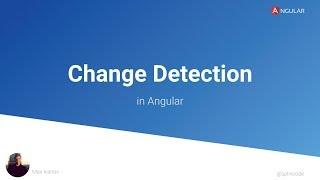 Стратегия обнаружения изменений в Angular  (выступление на Angular Piter)