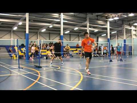 Malaysian Badminton Team Training for 2012 Olympics