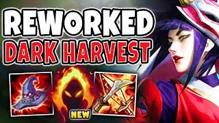*NEW* DARK HARVEST REWORK AKALI IS UNREAL! LITERAL INSTANT ONE-SHOTS!  - League of Legends