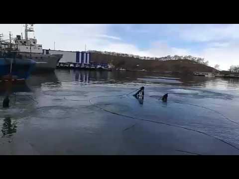 Как поднимают затонувшие корабли видео