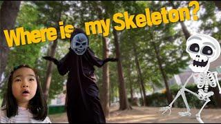 도와줘요~ 영어가 무서워요! 영어 유령이 나타났어요! 아이들 영어고민 끝! 아이빅영어 어린이영어 where is my skeleton? Kids English