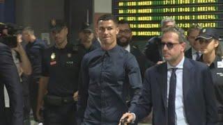 El Juventus de Cristiano ya está en Valencia