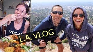 L.A TOUR VLOG | WHAT WE EAT!