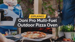Ooni Pro Outdoor Stone Pizza Oven