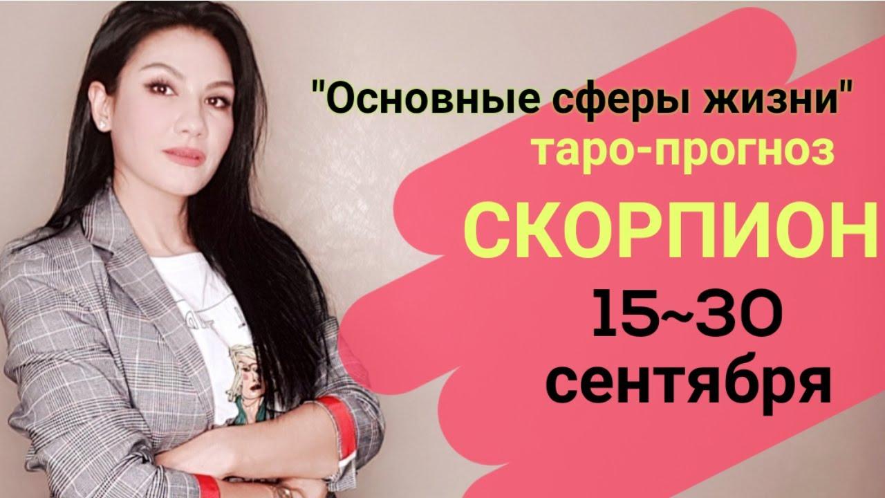 СКОРПИОН ФИНАНСЫ РАБОТА СЕНТЯБРЬ 15~30 «Основные сферы жизни»