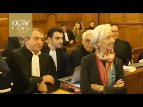 IMF chief Christine Lagarde found guilty of misusing public funds
