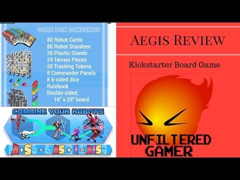 AEGIS: Super Combining Robot Tactics by Breeze Grigas