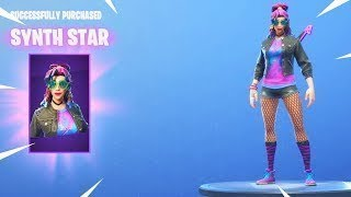 New Skin Synth Star + Sniper Intractable - Fortnite Battle Royale