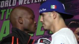 Timothy Bradley vs Brandon Rios - FACE OFF! @ WEIGH IN