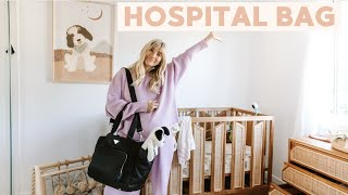 Packing our hospital bag //DAILY VLOG