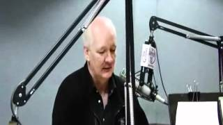 Lite Rock 105's Amy Pontes with Colin Mochrie and Brad Sherwood