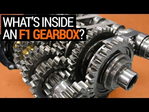 What's Inside an F1 Gearbox (& How it Works) | F1 Engineering