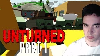 Unturned Gameplay Walkthrough Part 1 - This Is Hard! (lets Play Survival)