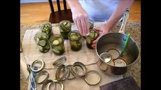 Homestead Series-  How to Can Dill Pickles