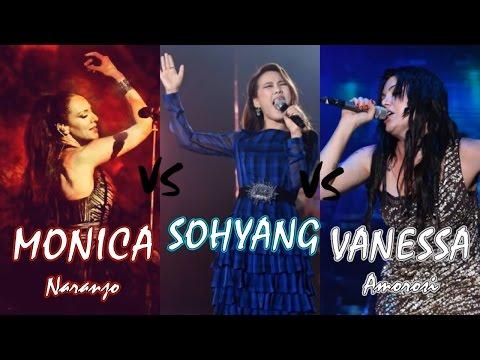 SoHyang vs Vanessa Amorosi vs Monica Naranjo (Live Vocal Battle)