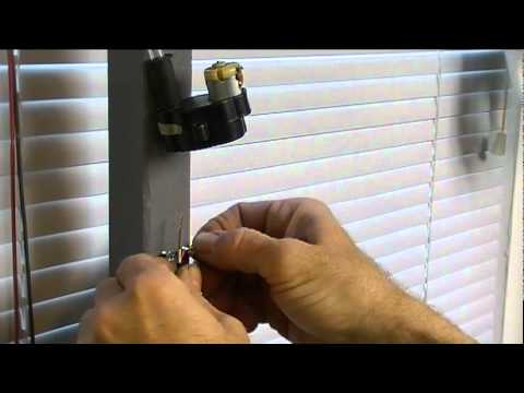 five minute power window blinds youtube On motorized window shades diy