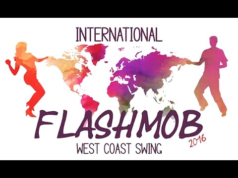 International Flashmob West Coast Swing 2016 - Routine