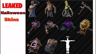 LEAKED FORTNITE Halloween Costume Skins & More!!! Halloween Update!