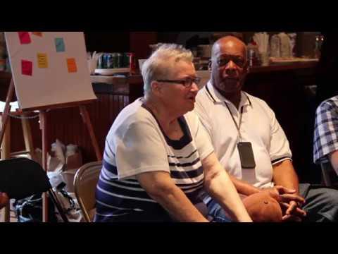 Lynne Stewart Speaks to CCR Ella Baker Interns (August 2014)