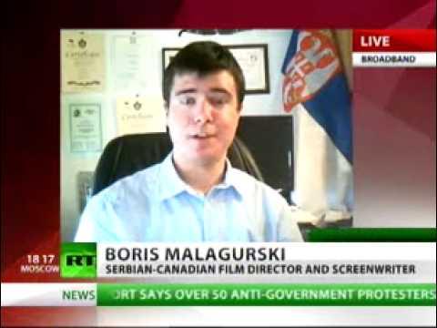 Boris Malagurski on RT - May 31, 2011