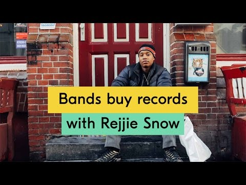 Rejjie Snow - Bands Buy Records Episode 07