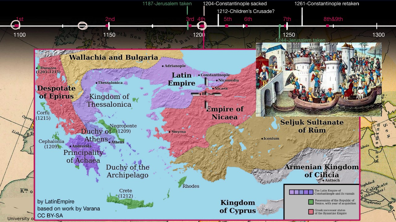An overview of the Crusades (part 2) - YouTube