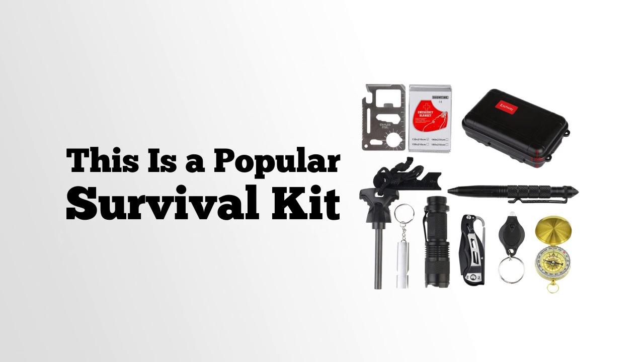 Eachway Professional Emergency Survival Gear Kit Outdoor Survival Tool